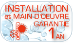 Installation garantie 1 an